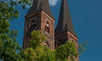 Dom St. Nikolai, ebenfalls Prachtbau der alten Hanse