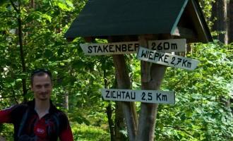 Morgenwanderung am Stakenberg über Zichtau