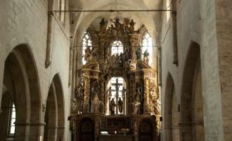noch mehr Prunk am Altar