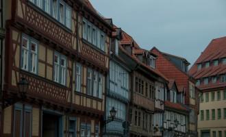 restaurierte Altstadt - typisch für den Harz im Fachwerkstil