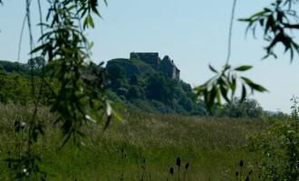 Burg Wendelstein, heute mit Mietwohnung wenigstens genützt