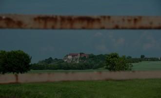 Blick von der Memlebener Unstrutbrücke zur Burg