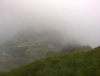 der plötzliche Nebel verheisst nichts Gutes...