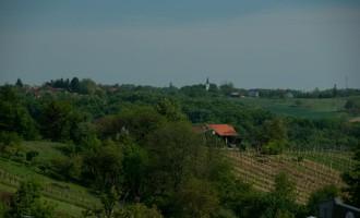 Goricko: Ausblick von Zgornji Moravci
