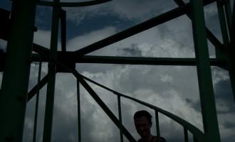 auf dem Aussichtsturm