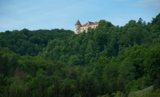 verlassene Burg Podcetrtek