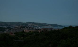 Blick in die Bucht von Triest
