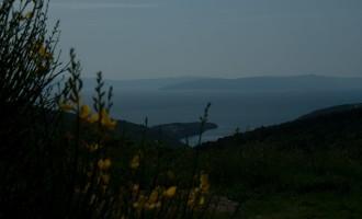 in Rogocana: Blick auf die Kvarner Bucht