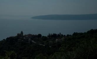 Ausgangspunkt: das befestigte Städtchen Moscenice