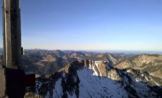 Gipfelpanorama Richtung Nordost