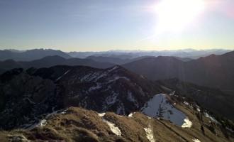 Gipfelpanorama Richtung Glockner