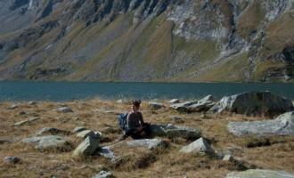 Einsamkeit in bestem Bergwetter