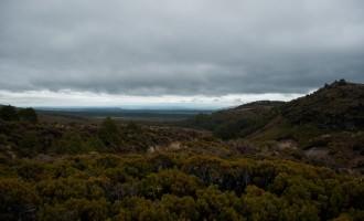 kurz nach Whakapapa