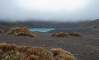 unser Tagesziel: unvermutet aufgetauchter Lower Tama Lake