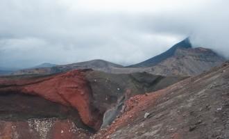 Red Crater (1886 müM) in voller Pracht