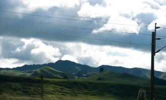 fruchtbares Land hinter Taihape