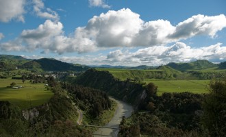der wilde Rangitikei River begleitet uns heute