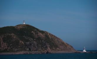 NZ´s älteste (1859) Leuchttürme am letzten Ost-Zipfel der Nordinsel (Pencarrow))