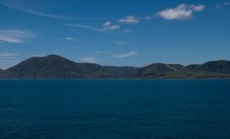 Cape Terawhiti, das letzte Festland im Westen der Nordinsel