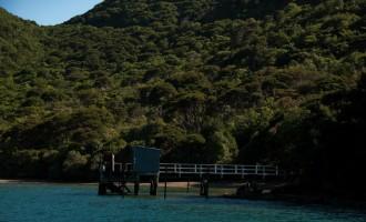 erster Halt in der Torea Bay