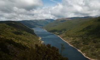 das Cobb Reservoir, Schauplatz der nächsten drei Tage