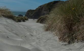 allerfeinster Sand dringt in jeden Schuh ein!