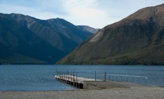 Lake Rotoiti - hier kann beim 3. Anlauf sogar die Sonne scheinen!