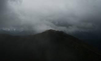 Victoria Range - mehr sehen wir heute nicht mehr