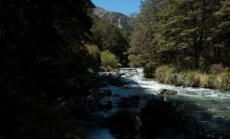 der Maruia River begleitet uns bis zum Ada Pass
