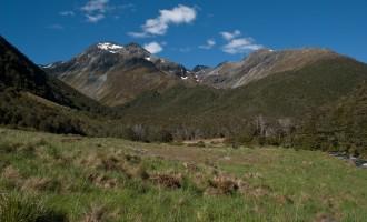 die majestätischen Spencer Mountains