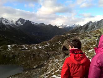 Blick nach Norden über das Virgental hinweg zum Quirl
