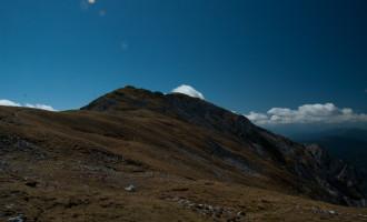 Blick nach Südosten zum zweiten Rötelstein-Gipfel