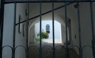 eingang zur ehemaligen synagoge