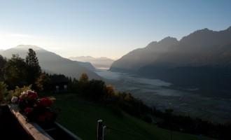 Frühnebel über dem Oberdrautal... der Herbst kommt nach Osttirol