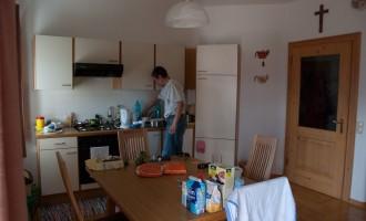 das ist wahrer Urlaub für die Hausfrau: der Hausmann!!!