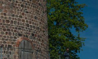 am Wehrturm der Burganlage
