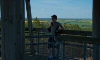 Aussichtsturm auf den Briesener Bergen (100 müM)