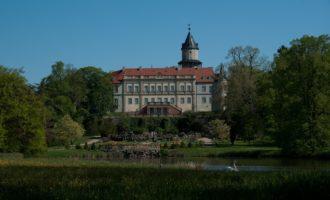 im Schlosspark von Wiesenburg