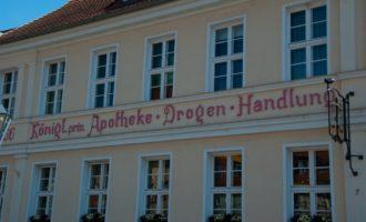 im alten Stadtkern von Kyritz schlägt das Herz der Apothekerin höher