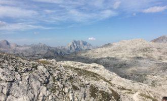 Im Abstieg von der Buchauer Scharte/Steinernes Meer