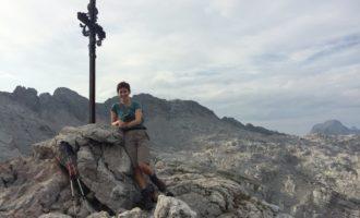 Am Gipfel des Sommersteins (beim Riemann Haus)