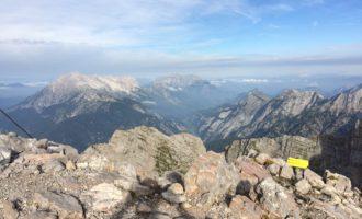 Blick vom Breithorn zu den Leoganger Steinbergen