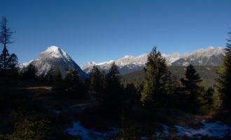 Blick zur Hohen Munde vom Brunschkopf/Seefeld aus
