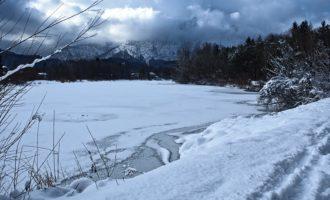 Blick zum Untersberg