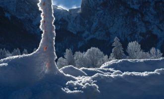 Abtenau-Au: Blick ins Tennengebirge