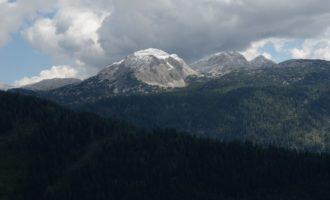Das Tote Gebirge im frischen Schneekleid