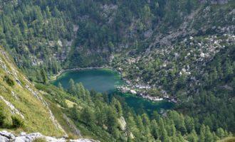 der Hintere Lahngangsee - wie eine Oase