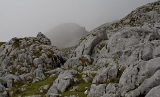Karst-Landschaft im Ochsenriedel