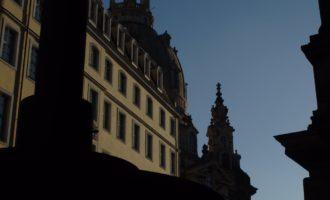 Die Frauenkirche aus einem anderen Blickwinkel
