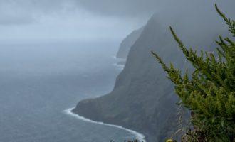 am westlichsten Punkt der Insel: Ponta da Pargo